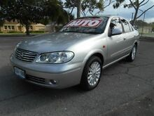 2004 Nissan Pulsar N16 MY04 Q Silver 4 Speed Automatic Sedan Nailsworth Prospect Area Preview