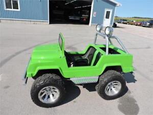 Carter Brothers Mini-Monster Jeep  go-cart