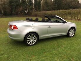 Volkswagen Eos 2.0TDI CR ( 140ps ) DSG 2009MY SE CONVERTIBLE DIESEL AUTOMATIC