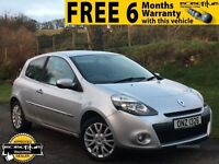 NEW MODEL 2010 RENAULT CLIO 1.5 DCI (DIESEL) DYNAMIQUE TOM-TOM SAT NAV 3 DR £30 ROAD TAX