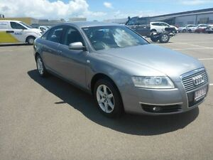 2008 Audi A6 4F Multitronic Grey 1 Speed Constant Variable Sedan Garbutt Townsville City Preview