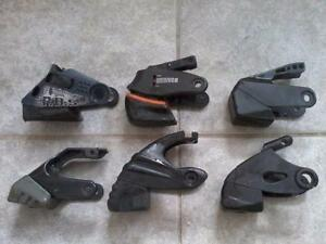 Inline Skate Parts- Brakes, Wheels, Bearings, Axles- Nike, Rollerblade, Bauer, K2, Firefly, etc.