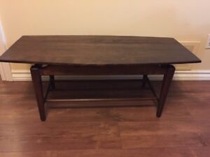 Vintage MCM Coffee Table - Surfboard Design