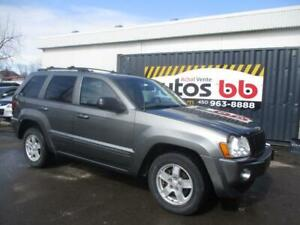 2007 Jeep Grand Cherokee LIMITED ( CUIR MAGS TOIT - DEMARREUR )