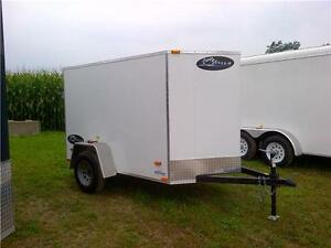5x8 Utility Box trailer w/ramp: $67.50/mon. Kitchener / Waterloo Kitchener Area image 1