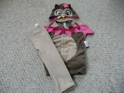 NEW Old Navy baby toddler girl Owl 3 pc Halloween Costume 6-12 12-24 NWT