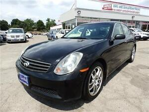 2005 Infiniti G35 FULLY LOADED SUNROOF CERTIFIED E-TESTED