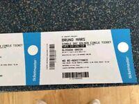 4x Bruno Mars Tickets July 10th Glasgow
