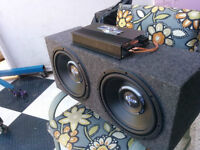 Two Subwoofer and Amp Crossfire!