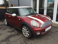 MINI HATCH COOPER 1.6 COOPER 3d 118 BHP (red) 2008