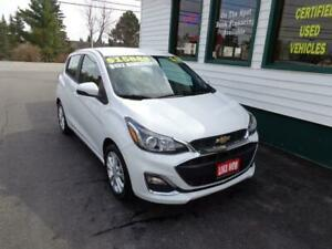 2019 Chevrolet Spark LT for only $132 bi-weekly all in!