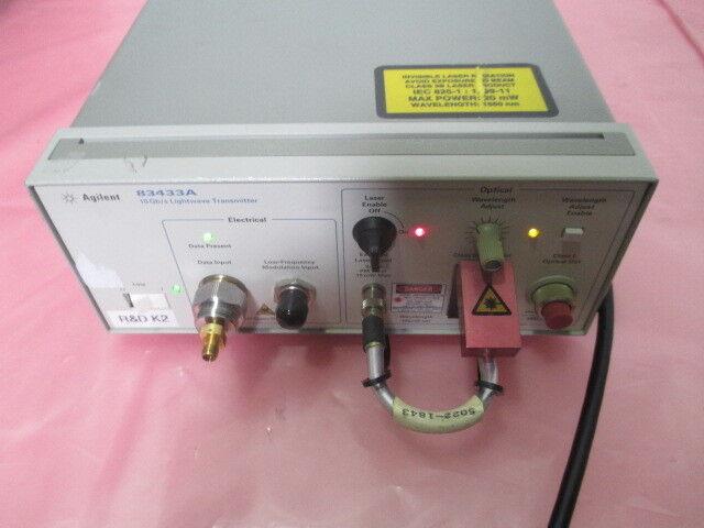 Agilent 83434A 10 Gb/s Lightware Reciever, 418914