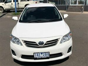 2013 Toyota Corolla ZRE152R MY11 Ascent White 4 Speed Automatic Sedan Fyshwick South Canberra Preview