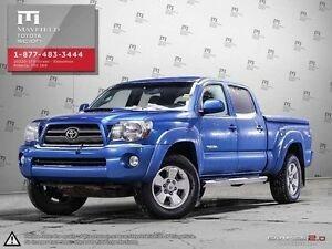 2009 Toyota Tacoma Double Cab TRD sport + leather package 4x4