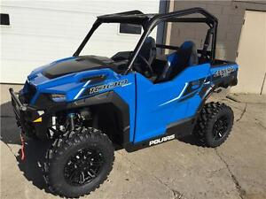 2016 POLARIS GENERAL 1000 EPS VELOCITY BLUE w/WINCH