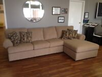 Sofa & Chaise Sectional – AVAILABLE TODAY!!!