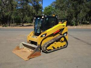 SKIDSTEER CAT 259B3 LOADER TRACK MACHINE Pickering Brook Kalamunda Area Preview