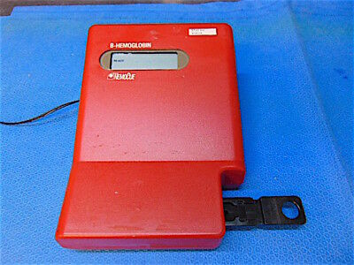 Hemocue B-hemoglobin Photometer With Power Supply - Powers Up - S3163