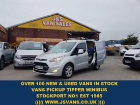 2014 64 FORD TRANSIT CONNECT T 200 LIMITED CONNECT 115 BHP 1 OWNER TOP SPEC VAN