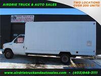 2006 Ford Econoline Cutaway Cube Van Diesel