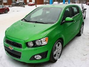 2016 Chevrolet Sonic LTZ LOADED DRAGON GREEN FINANCE AVAILABLE