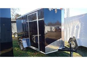 BEST PRICE ON 6X10 + V NOSE CAGO TRAILERS