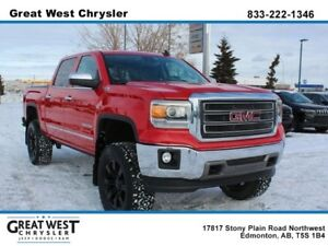 2015 Gmc Sierra 1500 SLT*Lifted*Leather*Sunroof*Navigation*Backu