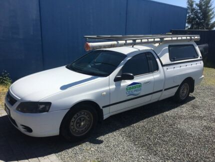 2008 Ford Falcon MK11 White 4 Speed Automatic Utility