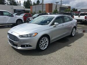 2013 Ford Fusion Titanium with Navigation and Moonroof