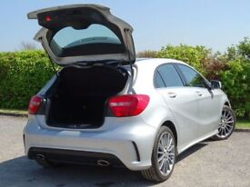 MERCEDES-BENZ A CLASS 1.5 A180 CDI BLUEEFFICIENCY AMG SPORT 5d (silver) 2014