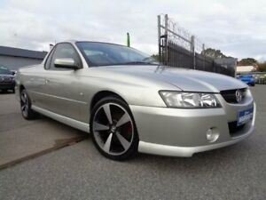 2007 Holden Commodore VZ SVZ Silver 6 Speed Manual Utility Pooraka Salisbury Area Preview
