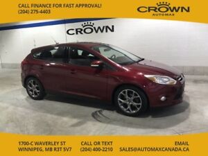 2013 Ford Focus SE winter ready with remote start! *Sunroof/ All