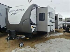 *BATTLE OF THE BUYERS SALE* SOLAIRE 316RLTS HUGE COUPLES TRAILER
