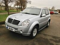 2007 Ssanyyong Rexton 2.7 Diesel Silver Semi- Auto