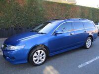 2007 Honda Accord 2.2 i CTDi EX 5dr Estate. SAT NAV. 55000 miles. Full Honda Service History. Diesel