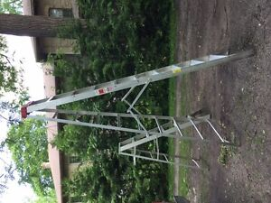 10 FT AND 6 FT ALIMINIUM STEP LADDERS