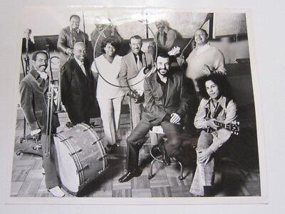 JOHNNY OTIS band with Shuggie Otis etc  8x10 photo a