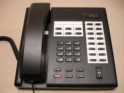 5 Refurbished Comdial Impression Phones Black 2122s 2122s-fb