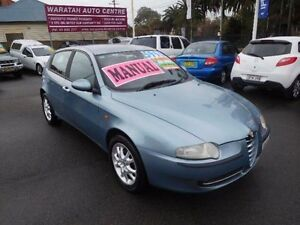 2001 Alfa Romeo 147 2.0 Twin Spark Silver 5 Speed Manual Hatchback Waratah Newcastle Area Preview