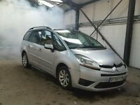 CITROEN C4 GRAND PICASSO 1.6 HDI SILVER 09 BREAKING FOR ALL PARTS