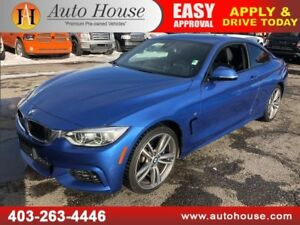 2014 BMW 435i M PACKAGE COUPE XDRIVE  NAVIGATION BACKUP CAMERA