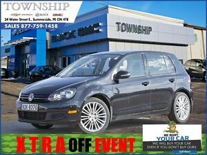 2012 Volkswagen Golf - $9/Day - Automatic - Alloy Wheels