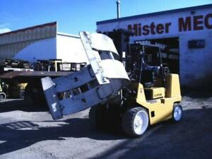 FORKLIFT and CLAMP - RENTAL