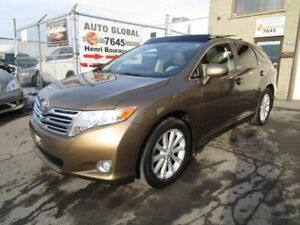 Toyota Venza  AWD-4 CYLINDRE TOIT PANO,CUIR,EXTRA PROPRE 2009