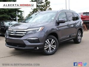 2018 Honda Pilot EX-L w/RES Heated Leather Driver Assists Moo