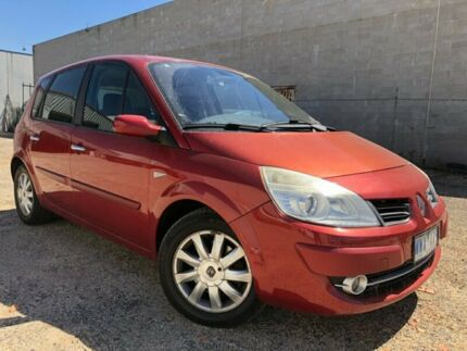 2007 Renault Scenic II J84 Dynamique Red 4 Speed Automatic Hatchback Hoppers Crossing Wyndham Area Preview