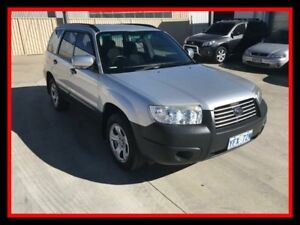2007 Subaru Forester 79V MY07 X AWD Silver 4 Speed Automatic Wagon