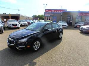 2016 CHEVROLET CRUZE LIMITED CAMERA BTOOTH SUNROOF EASY FINANCE