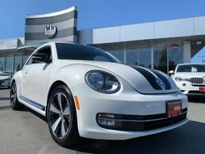 2012 Volkswagen Beetle 2.0T White Edition Leather 6SPD TURBO