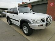 2004 Nissan Patrol GU IV ST (4x4) White 4 Speed Automatic Wagon Holden Hill Tea Tree Gully Area Preview